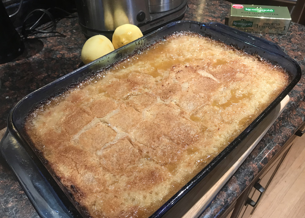 Lemon Cobbler6